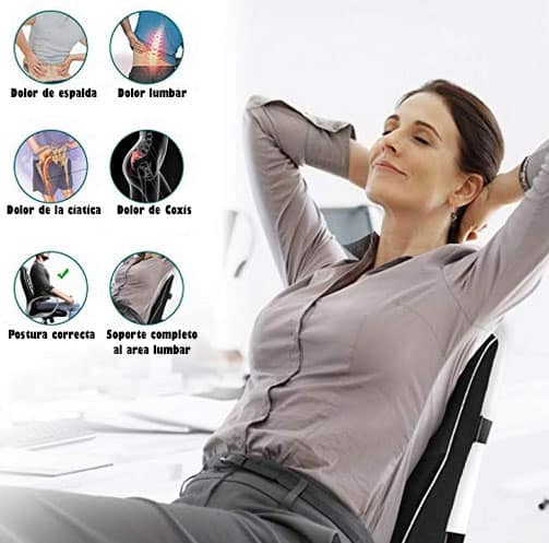 cojin lumbar amazon